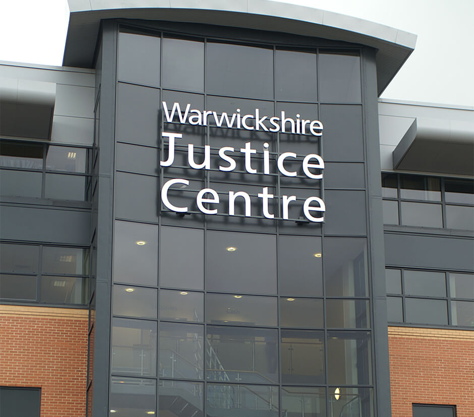Building for Warwickshire Justice Centre